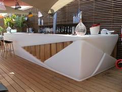 Bancone bar in resina per esterni BAR BOND - Binome