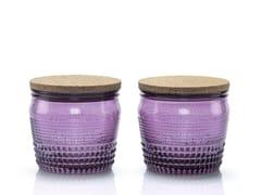 Set di 2 barattoli in vetro soffiatoBARATTOLANDO | Contenitore per alimenti - INDUSTRIA VETRARIA VALDARNESE