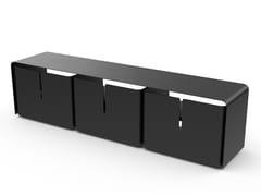 Mobile TV in acciaio verniciato a polvereBARBER | Mobile TV - MATIÈRE GRISE