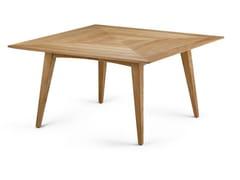 Tavolo da pranzo quadrato in legno BARCELONA | Tavolo in legno - BARCELONA