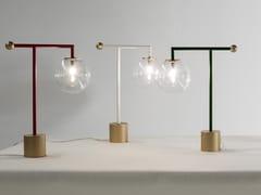 Lampada da tavolo a LED in metallo verniciatoBARDOT - BONALDO