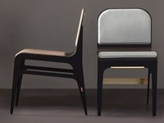 Sedia in acciaio con poggiapiediBARDOT | Sedia - GABRIEL SCOTT