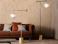 Lampada da terra a LED in metallo verniciatoBARDOT | Lampada da terra - BONALDO