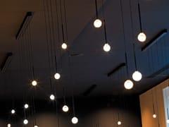 Lampada a sospensione a LED a luce diretta in vetro borosilicatoBARRALED X5 VENERE - ALBUM ITALIA