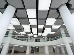 Pannello acustico a sospensione in PVC con illuminazione integrataBARRISOL® ILLUMINATED LIGHT BOXES - BARRISOL-NORMALU