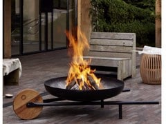 Barbecue / braciere in acciaio verniciato a polvereBARROW - KONSTANTIN SLAWINSKI