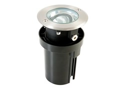 Segnapasso a LED a pavimento in acciaio inoxBASCU - SOVIL