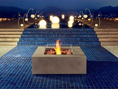 Caminetto da esterno freestanding a bioetanoloBASE 40 - ECOSMART FIRE