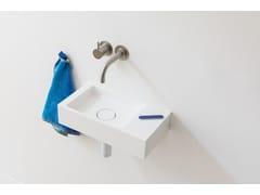 Lavamani rettangolare sospeso in HIMACSBASE | Lavamani - NOT ONLY WHITE