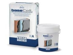 FASSA, BASECOLL Adesivo e rasante impermeabilizzante bicomponente cementizio