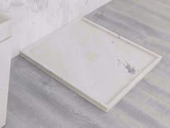 L'ANTIC COLONIAL, BASIC Piatto doccia quadrato in pietra naturale