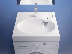 Lavabo sospeso in calcestruzzo polimericoBASIN IDEA 600 - HISPANOBELUX