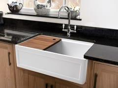 Lavello a una vasca in ceramicaBASK | Lavello - BLEU PROVENCE