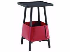 Tavolino di servizio quadrato in MDF BASKET | Tavolino di servizio -