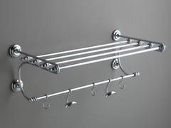 Porta asciugamani / mensola bagno in ottoneAB223 | Porta asciugamani - BLEU PROVENCE