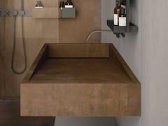 Lavabo rettangolare sospeso in gres porcellanatoBATH DESIGN | Lavabo - ABK INDUSTRIE CERAMICHE