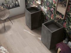 Lavabo freestanding quadrato in gres porcellanatoBATH DESIGN | Lavabo freestanding - ABK INDUSTRIE CERAMICHE