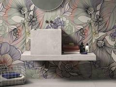 Lavabo da appoggio quadrato in gres porcellanato in stile modernoBATH DESIGN | Lavabo quadrato - ABK INDUSTRIE CERAMICHE
