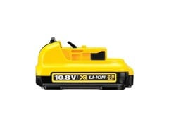 Batteria al litio BATTERIA 10.8V 2AH XR LITIO - DEWALT® STANLEY BLACK & DECKER ITALIA