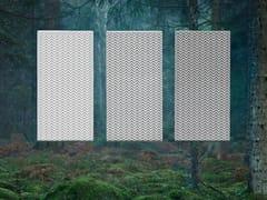 BAUX, BAUX ACOUSTIC PULP Pannello decorativo acustico ignifugo in fibra di cellulosa