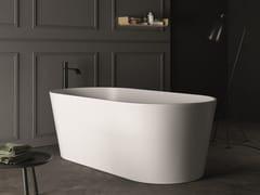 Vasca da bagno centro stanza ovale in Pietraluce®BAY - NIC