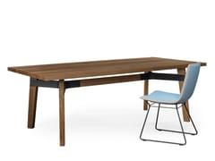 Tavolo da pranzo in legnoBB31 CONNECT | Tavolo rettangolare - CHRISTIAN SEISENBERGER