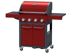 IL BRACERE, BBQ  GENERATION BASIC BARBEQUE A GAS CON CARRELLO