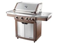 Barbecue a gas con carrelloBBQ  GENERATION FUNPRO ACCIAIO INOX - IL BRACERE