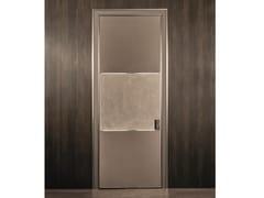 Porta scorrevole in pelle BE MINE | Porta scorrevole - Aluminium Chic