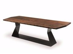 Tavolo in legno BEDROCK PLANK A - Bedrock
