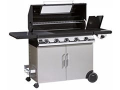 Barbecue a gas con carrello BEEFEEATER DISCOVERY 1100E 5 FUOCHI - BEEF EATER BBQ