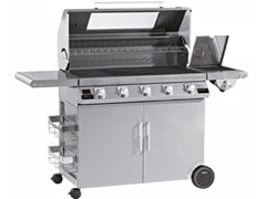 Barbecue a gas con carrello BEEFEEATER DISCOVERY 1100S 5 FUOCHI - BEEFEATER BBQ