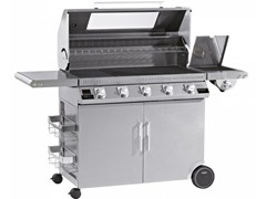 Barbecue a gas con carrello BEEFEEATER DISCOVERY 1100S 5 FUOCHI - BEEF EATER BBQ