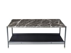 Tavolino da caffè rettangolare in marmo BEEN | Tavolino in marmo - Been