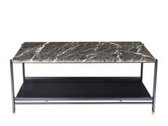 Tavolino di servizio rettangolare in marmo BEEN | Tavolino di servizio - Been