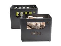 Ciotola per fuoco / portabottiglie in acciaio Corten™BEER BOX - HÖFATS