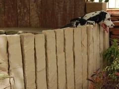 Recinzione a sbarre in pietra naturaleBEIGE FENCES - STONE AGE PVT. LTD.