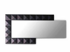Specchio rettangolare da parete con corniceBEL.MONDO | Specchio - ARKOF LABODESIGN