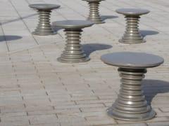 Seduta da esterni in metalloBELL'ORA   Seduta da esterni in metallo - GHM-ECLATEC