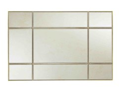 Specchio rettangolare in bronzo da pareteBELLA - SALMA FURNITURE