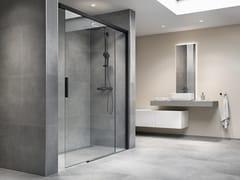 DUSCHOLUX, BELLA VITA Box doccia su misura in vetro con porta scorrevole