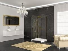RELAX, BELLE-EPOQUE Box doccia rettangolare con piatto