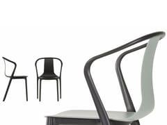 Sedia impilabile in poliammide con braccioli BELLEVILLE AMRCHAIR PLASTIC - Belleville Chair