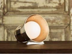 Lampada da tavolo a luce diretta e indiretta in bronzoBEN - PASCAL AND PHILIPPE