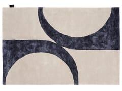 Tappeto fatto a mano rettangolare in lanaBEND - ASPLUND