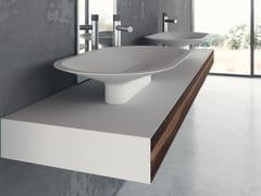 Lavabo da appoggio ovale in Meridian Solid Surface®BENITIER-01 - LE PROJET BRAND