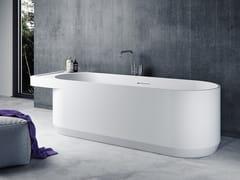 Le Projet, BENITIER-BT01 Vasca da bagno ovale in Solid Surface
