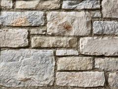 Rivestimento in pietra ricostruitaBERGAMO P01 | Bianco Marmo - GEOPIETRA