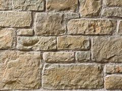 Rivestimento in pietra ricostruitaBERGAMO P01 | Bianco Reale - GEOPIETRA