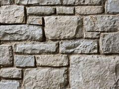Rivestimento in pietra ricostruitaBERGAMO P01 | Bianco Terra - GEOPIETRA